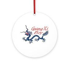 GuangXi Boy Ornament (Round)
