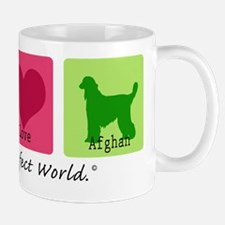 Peace Love Afghan Mug