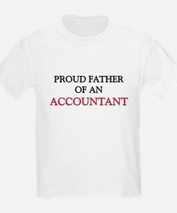 Proud Father Of An ACCOUNTANT T-Shirt