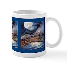 Moonlight Crow Raven Mug