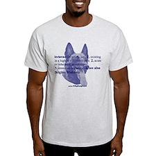 Intense--Belgian Malinois T-Shirt