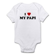 I Love MY PAPI Onesie
