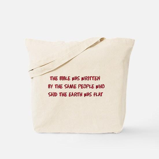Flat Earth Historians Tote Bag