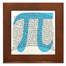 Celebrate PI DAY March 14 Framed Tile