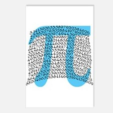 Celebrate PI DAY March 14 Postcards (Package of 8)