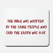 Flat Earth Historians Mousepad