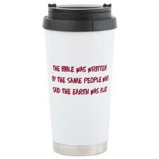 Flat Earth Historians Travel Coffee Mug