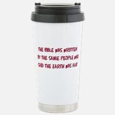 Flat Earth Historians Travel Mug