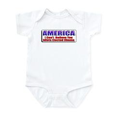 American Idiots Infant Bodysuit