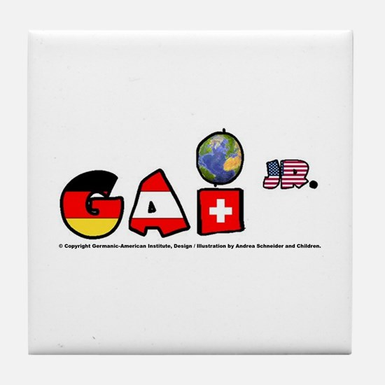 GAI Jr. Tile Coaster