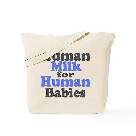 Human Milk.... Tote Bag