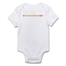 Weepublican Floral Infant Bodysuit