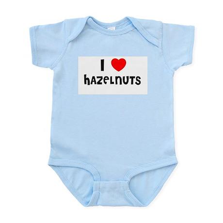 I LOVE HAZELNUTS Infant Creeper