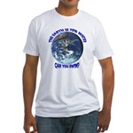 Can you swim? Fitted T-Shirt