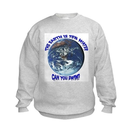 Can you swim? Kids Sweatshirt