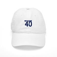 Dad's 40th Birthday Baseball Cap