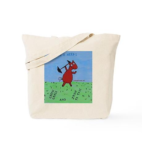 Weightlifter Tote Bag