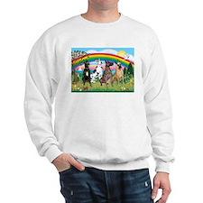 4Greyts-Rainbow1 Sweatshirt