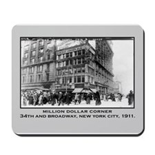 34th and Broadway NYC Vintage Mousepad