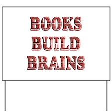 Books Yard Sign