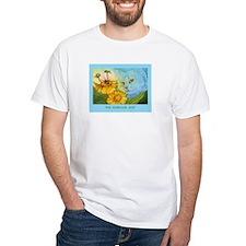 Summer Blue Garden CAT Shirt