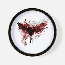 Groenendael Genuine Vampire Dog Crest Wall Clock