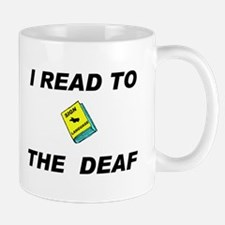 DEAF READER Mug