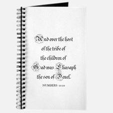 NUMBERS 10:20 Journal