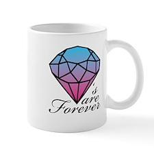 Diamonds are Forever A (Dark) Mug