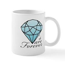 Diamonds are Forever B (Dark) Mug