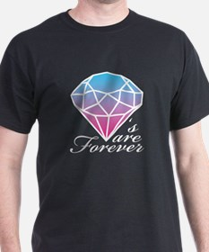 Diamonds are Forever A (Light T-Shirt