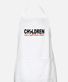 Children Are a Gift from God BBQ Apron