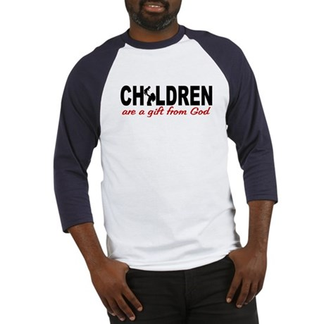 Children Are a Gift from God Baseball Jersey