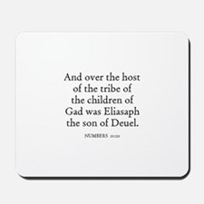 NUMBERS  10:20 Mousepad