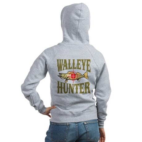 Walleye Hunter Women's Zip Hoodie