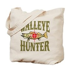 Walleye Hunter Tote Bag