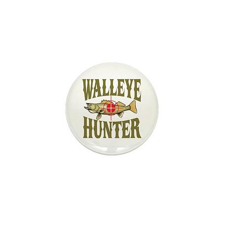 Walleye Hunter Mini Button (10 pack)