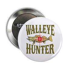 "Walleye Hunter 2.25"" Button"