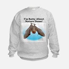 Nature Dome Kids Bat Sweatshirt