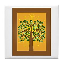 Bodhi Tree Tile Coaster