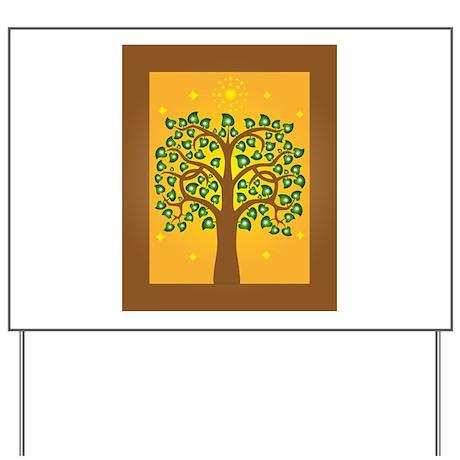 Bodhi Tree Yard Sign