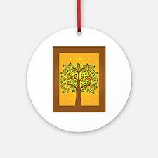 Bodhi Tree Ornament (Round)