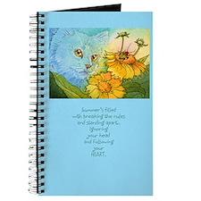 Summer Blue Garden CAT Journal
