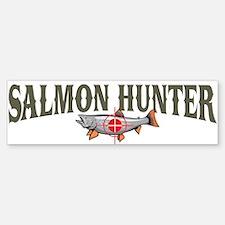 Salmon Hunter Bumper Bumper Bumper Sticker