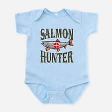 Salmon Hunter Infant Bodysuit