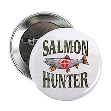 "Salmon Hunter 2.25"" Button"
