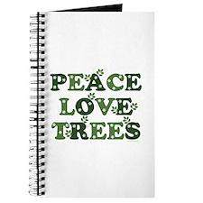 Peace Love Trees Journal