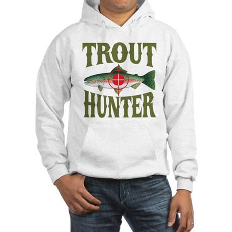 Trout Hunter Hooded Sweatshirt