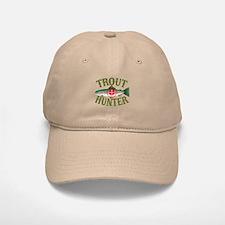 Trout Hunter Baseball Baseball Cap