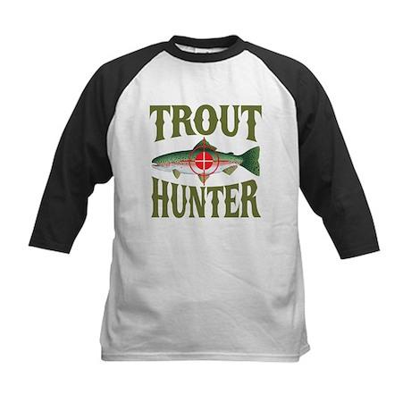 Trout Hunter Kids Baseball Jersey